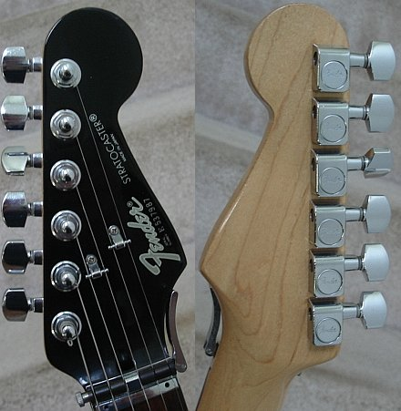 Chris S Guitars Fender Contemporary Strat