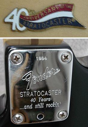 1994 40th Anniversary Fender American Standard Stratocaster