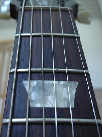 Fret Wear Pic And No Structural Issues Cracks Etc For A Lacquer Finish Studio Nice Buy Especially The Many Players Who Are Looking