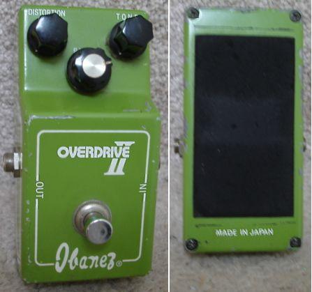 Ibanez Overdrive II schematic