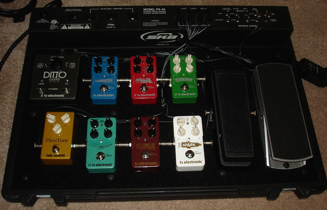 Chris Guitars On Sale Best Price The Web Stateworks Gt Software Swexecstandardle Oh Man Heres A Pedal Heads Dream Come True Killer Pro Set Up With Top Quality Tce Effects All Bypass And In Super Clean Condition